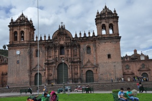 The cathedrals in Peru and Ecuador blow my mind. They're all massive, intricate, very Spanish feeling, and they are practically in every plaza in every city.