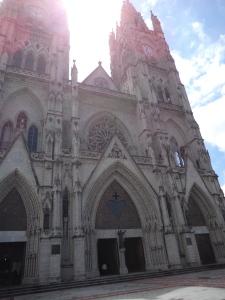 The Basilica In Quito, Ecuador.
