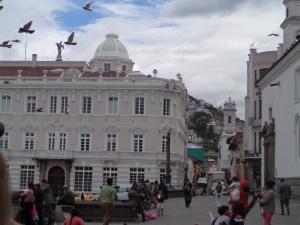 Old City in Quito Ecuador
