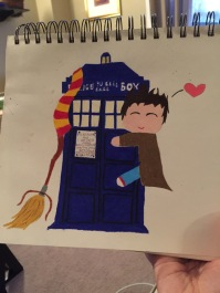 Doctor Who and Harry Potter Mashup